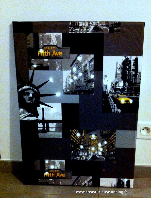 Diy new york mise en lumi re creastucieuse - Chute de lino ...